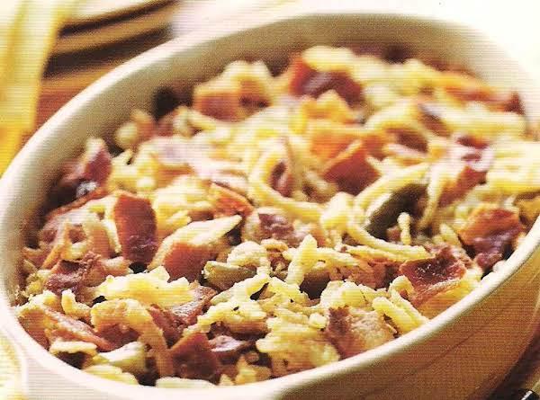 Bacon And Green Bean Casserole Deluxe