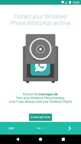 WinWazzapMigrator Screenshot