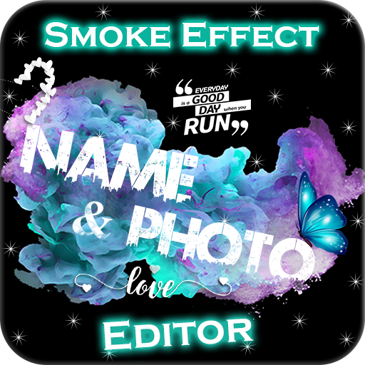 Smoke Effect Name & Photo Editor icon
