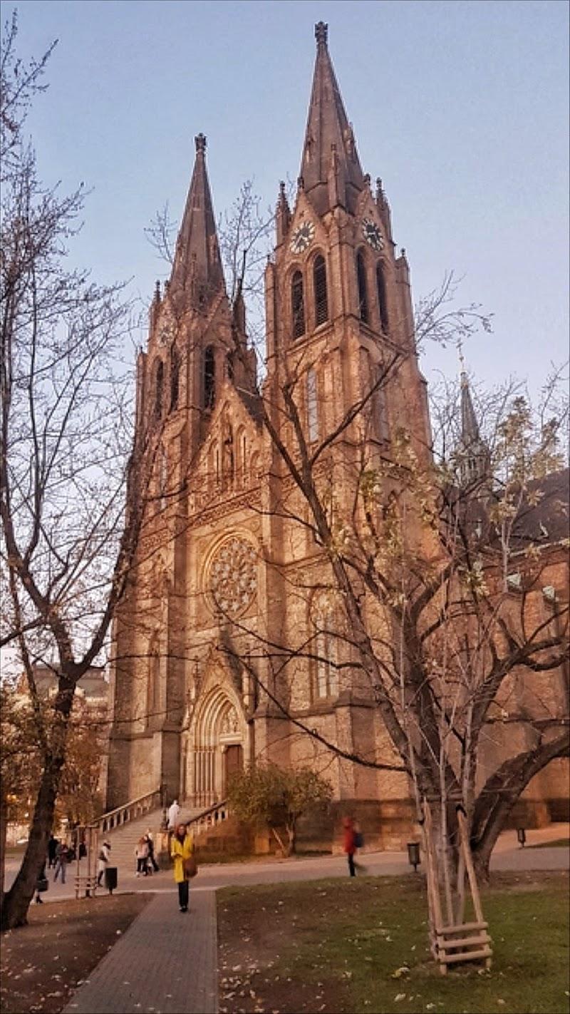 Kostel Sv Ludmily Praga di OlgaEmme