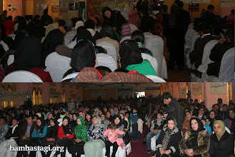 Photo: March 8, 2012- Kabul: Around 1500 women and men attended the function of the Solidarity Party of Afghanistan.
