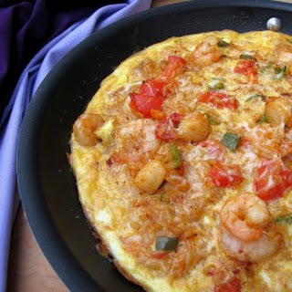 Seafood Jambalaya Frittata #SundaySupper