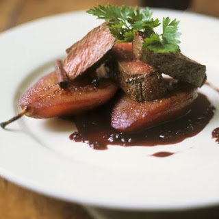 Gourmet Beef with Pears.