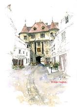 Photo: Semur en Auxois - Entrance