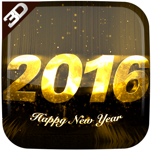 New Year Cube Live Wallpaper
