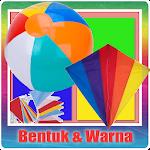 Belajar Bentuk dan Warna Icon