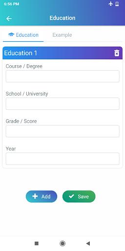 Resume Builder App Free CV maker CV templates 2020 screenshot 19