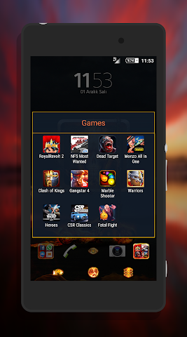 android Fever XpeRian Theme Screenshot 7