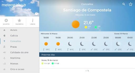 MeteoGalicia 4.2.2 screenshots 18