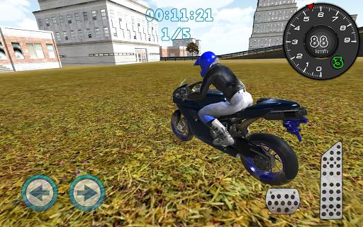 오토바이 도시 드라이버 3D
