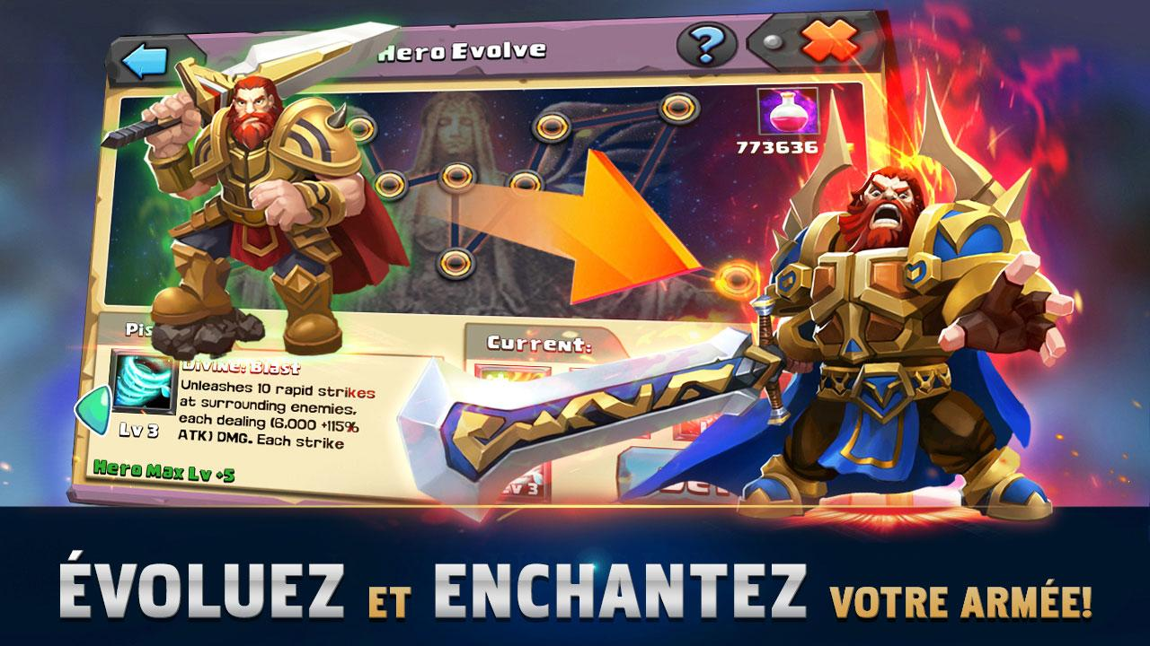 Clash of Lords 2: Clash Divin- screenshot