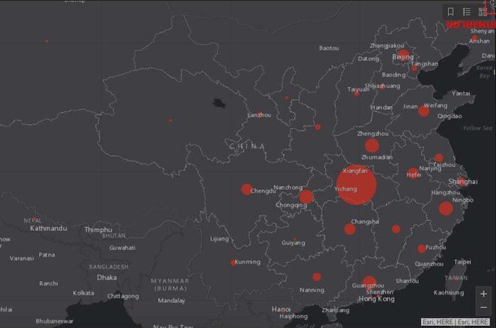 COVID-19 นั้นเป็นเชื้อไวรัสที่เริ่มแพร่พันธุ์ในประเทศจีน