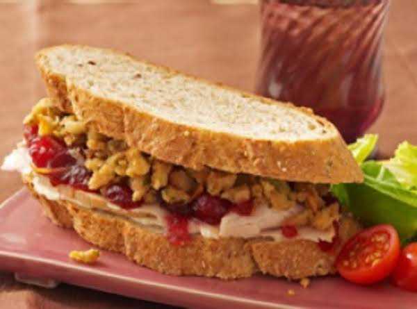 Turkey Sandwiches W/ Trimmings Recipe