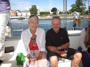 Photo: More old friends: Anne Holst Torgersen and Arne Tag