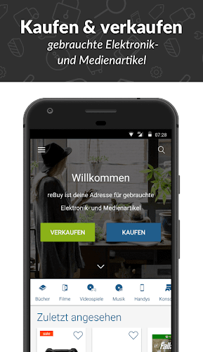 reBuy - Kaufen & Verkaufen Android App Screenshot