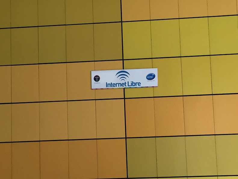 ラパスのロープウェーの駅