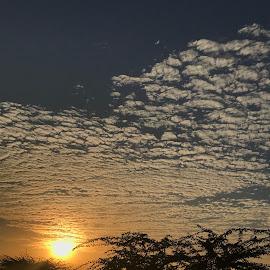 Cloudy evening..⛅️ by Indhumathi Karthikeyan - Instagram & Mobile iPhone