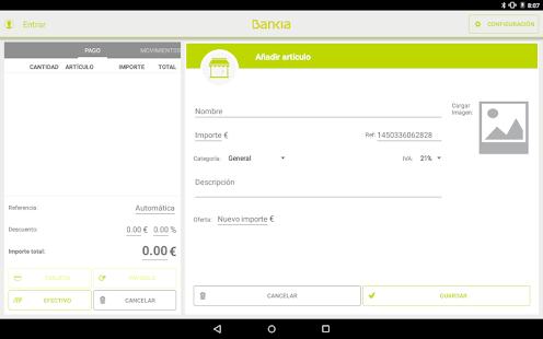 Bankia TPV Móvil Tablet - náhled