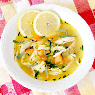 Lemon Chicken Noodle Soup