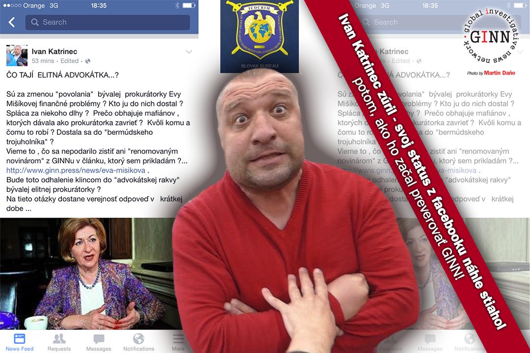 Ivan Katrinec, Eva Mišíková, status, Icocrim