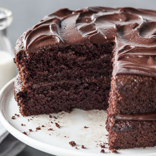 Dark Chocolate Layer Cake.