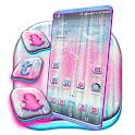 Pink Birch Tree Launcher Theme icon