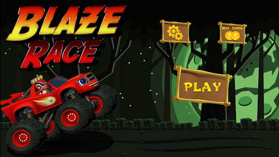 New Blaze Monster Truck Machine Race 2018
