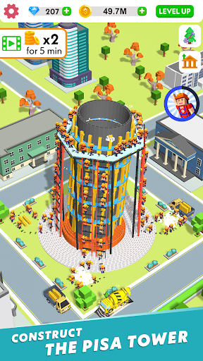 Code Triche Idle Construction 3D APK MOD screenshots 6