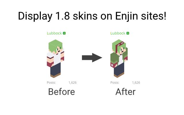 Enjin Minecraft Avatar Fix