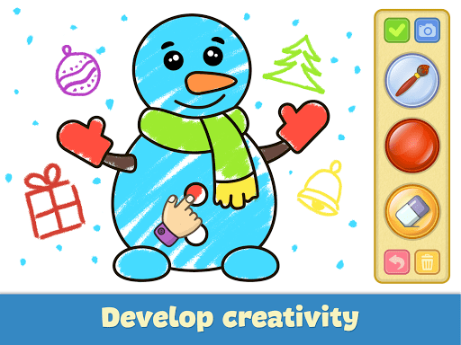 Coloring and drawing for kids - screenshot