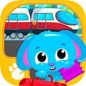 Cute & Tiny Trains - Choo Choo! Fun Game for Kids