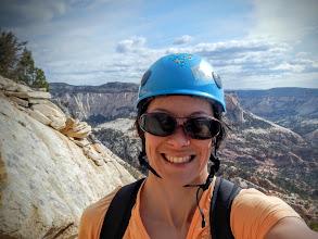 Photo: Hey, I'm climbing!