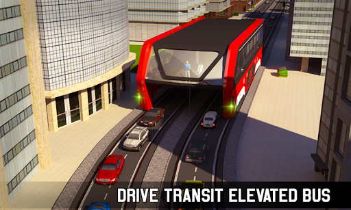Elevated Bus Simulator: Futuristic City Bus Games 2.2 screenshots 6