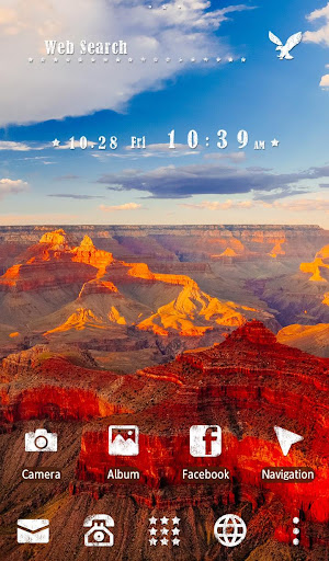 玩免費攝影APP|下載Grand Canyon +HOME Theme app不用錢|硬是要APP