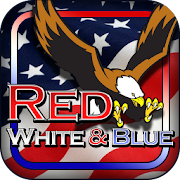 Red White Blue 777 Slot HD