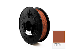 FiberForce Pantone (R) 18-1345 TPG PLA Filament - 1.75mm (0.75kg)