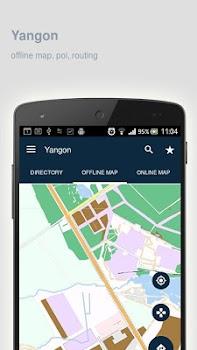 Yangon Map offline