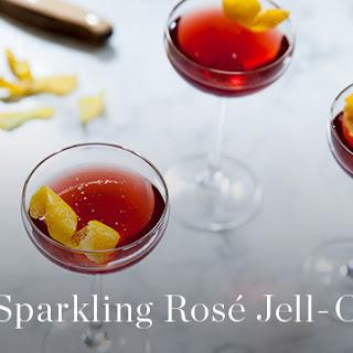Sparkling Rose Jell-O.
