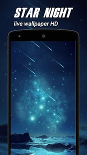 Star night Live Wallpapers HD - náhled
