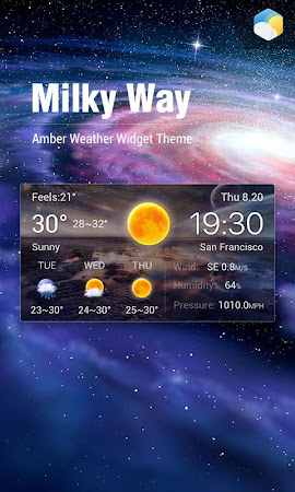 Best Galaxy Live Weather Widge 7.2.9.d_release screenshot 620465