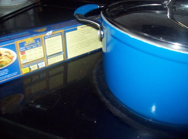 Bring a large pot filled with salted water to a full boil. Add dried...