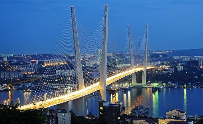 Cầu vịnh Zolotoy Rog Vladivostok – Nga