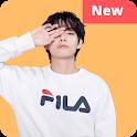 Best V Wallpaper Kpop HD Offline icon