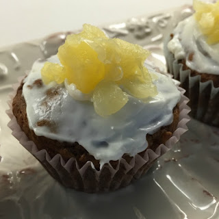 Pineapple and Zucchini Cupcakes