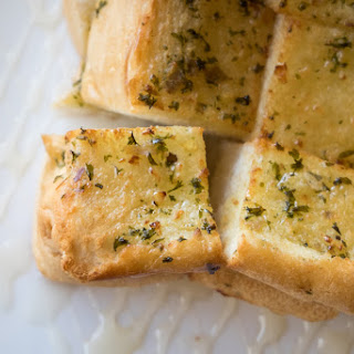 Frugal Family Cheesy Homemade Garlic Bread