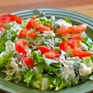 Seven Layer Salad Gluten Free Dairy Free