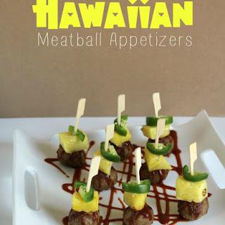 Hawaiian Meatball Appetizers
