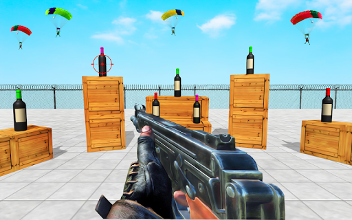 Ultimate Real Bottle Shooting:Free Shooting Games screenshot 1