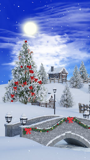 Christmas Village Live Wallpaper screenshot 1