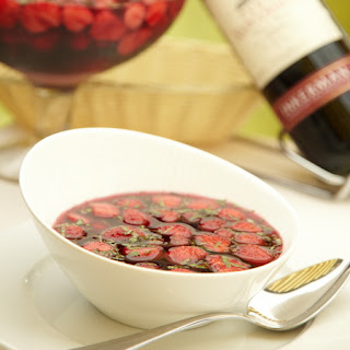 Strawberry And Wine Soup